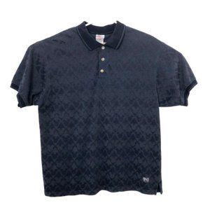DISNEY Blue Mickey Diamond Polo Shirt G24